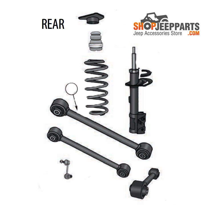 Jeep Renegade Rear Lateral Link