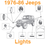 1976-86 Jeep Lights