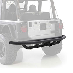 Rear SRC Bumper with 2 inch Receiver 87-06 Wranglers