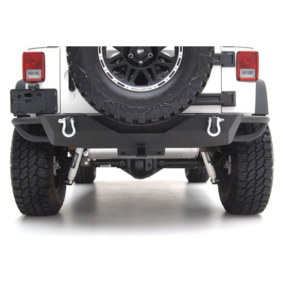 Rear SRC Bumper with 2 inch Receiver 07-15 Wranglers
