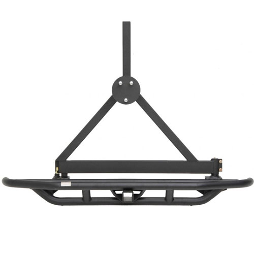 Rear SRC Bumper with 2 inch Receiver and Tire Carrier 87-06 Wranglers
