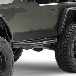 Smittybilt SRC Side Armor 2004-06 Wranglers Unlimited