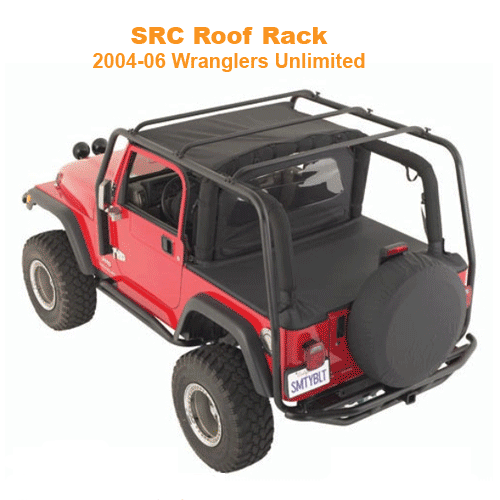 Smittybilt SRC Roof Rack 2004-06 Wrangler Unlimited