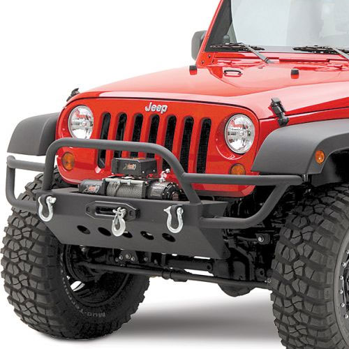 Front SRC Bumper with Winch Mount 07-17 Wrangler