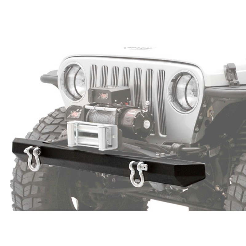 SRC Rock Crawler Front Bumper with D-Rings 87-06 Wranglers