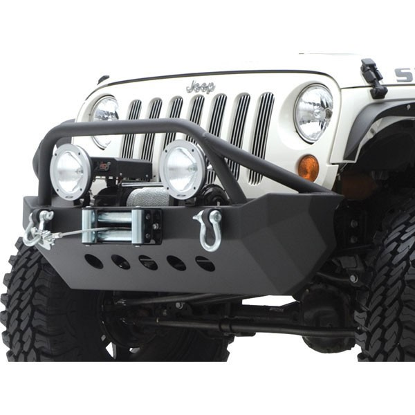 XRC Armor Front Bumper with Winch Plate 07-16 Wranglers