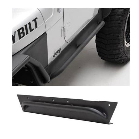 Smittybilt XRC Rock Sliders with Side Step 87-95 Wranglers