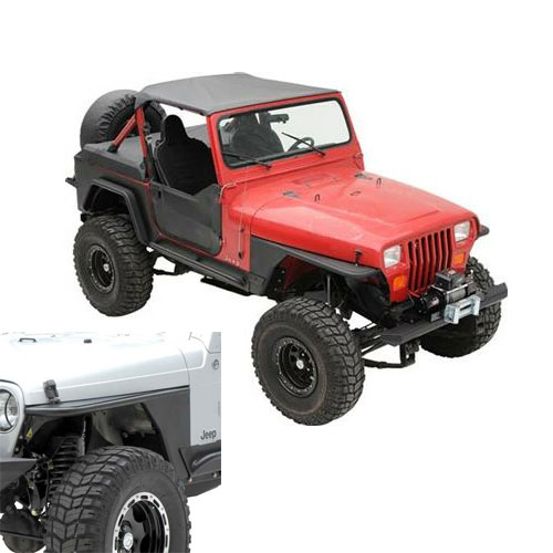 XRC Armor Front Tube Fenders 76-86 Jeep CJ7