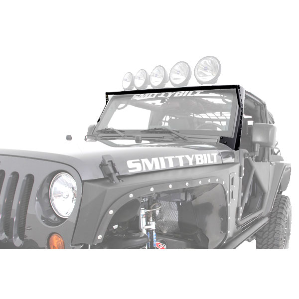 Smittybilt XRC Light Bar, 07-16 Wranglers JK