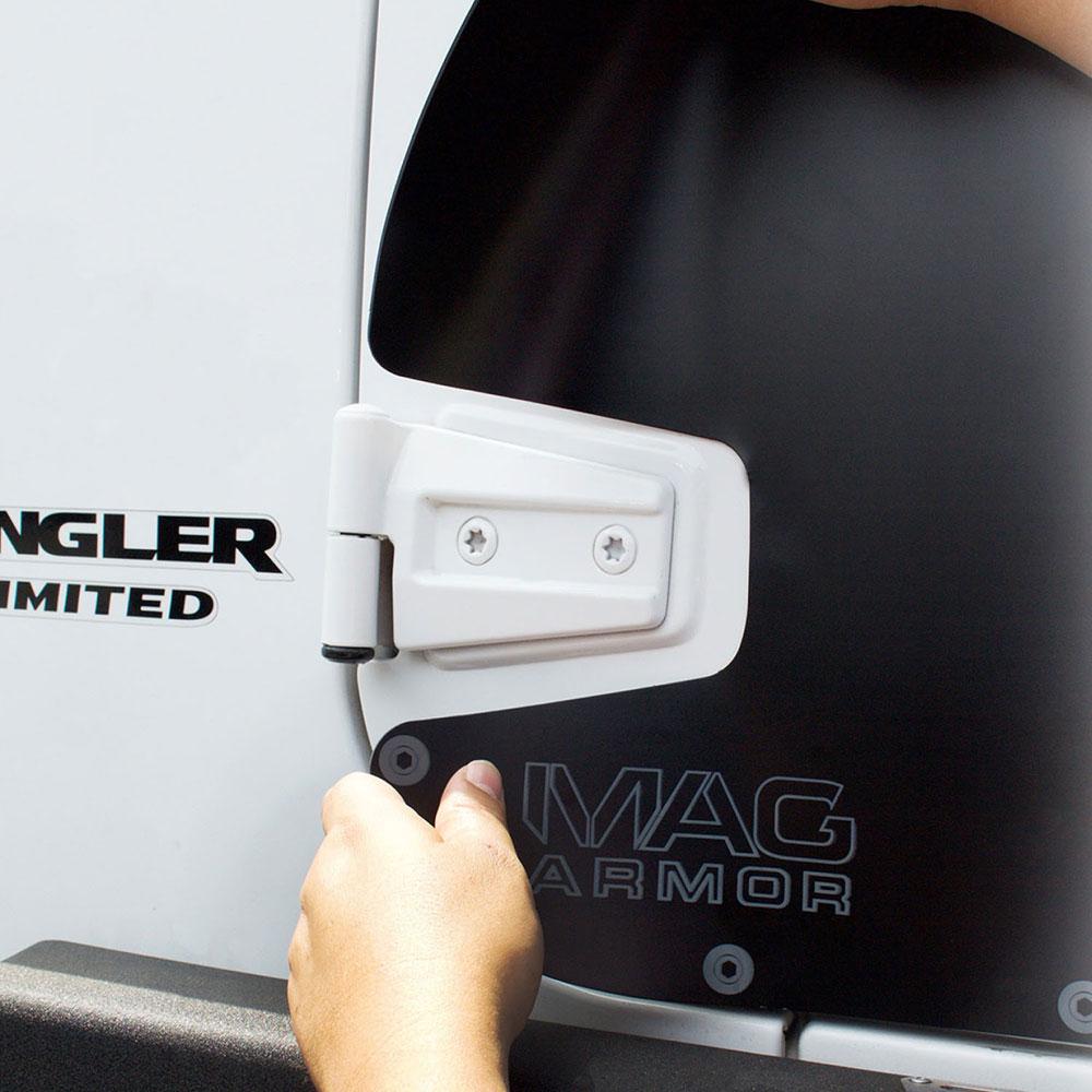 Smittybilt Mag Armor Magnetic Trail Skins 2 Doors Jk