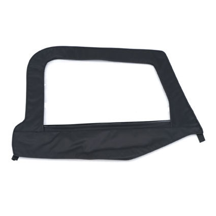 Door Skin with Frame Passenger Side 1997-06 Wrangler Black Denim