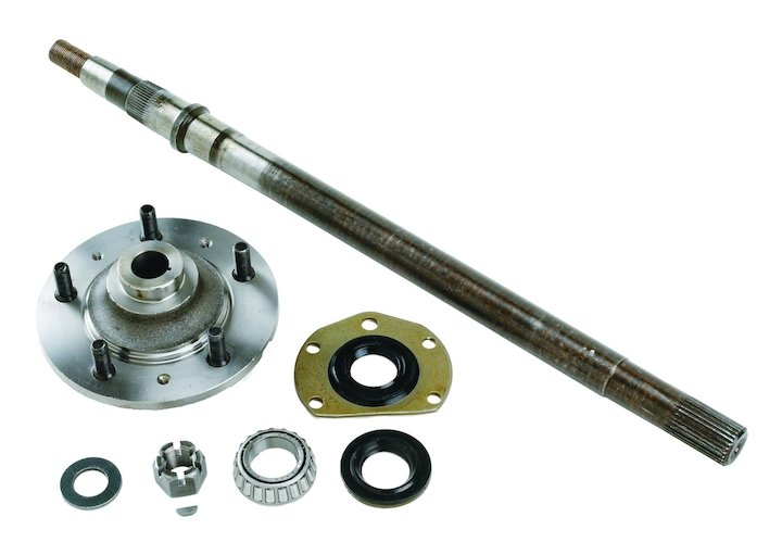 Rear Axle Kit, Left, 76-83 Jeep CJ5, 76-81 Jeep CJ7 CJ8