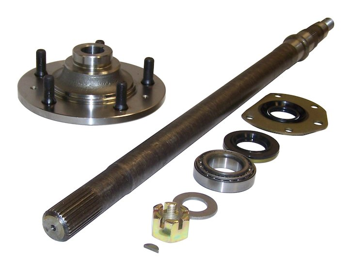 Rear Axle Kit, Left, 82-86 Jeep CJ7 CJ8