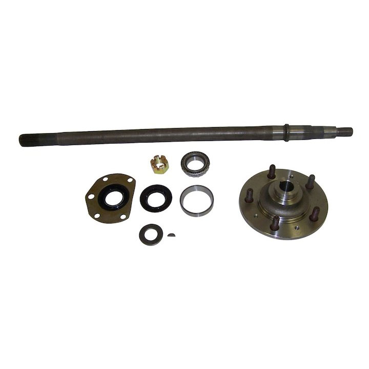 Rear Axle Kit, Right, 82-86 Jeep CJ7, CJ8