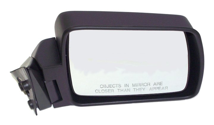 Right Side Manual Mirror 84-96 Cherokee