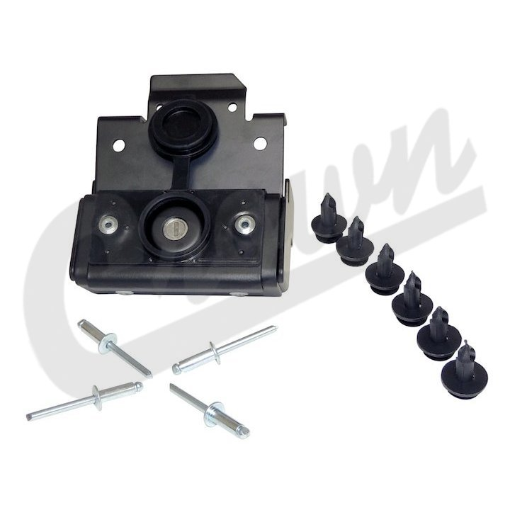 Jeep Wrangler JK Hood Lock Kit