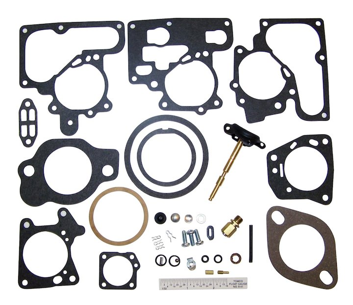 Carburetor Repair Kit 1984-1986 Jeep CJ with 4 Cyl