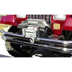 Front Tube Bumper 76-86 Jeep CJ Stainless Steel