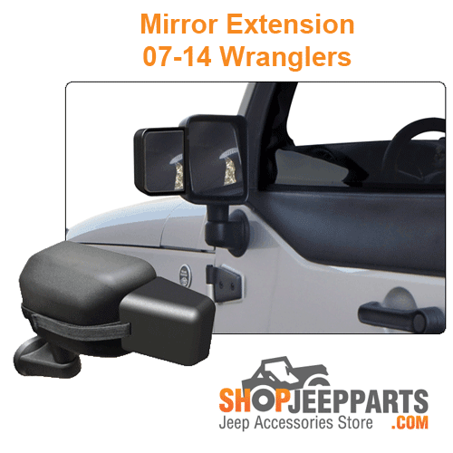 Mirror Extension 07-14 Wranglers