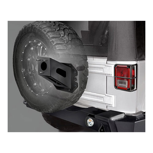 Spare Tire Mount Extender 07-17 Wranglers