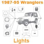 1987-95 Wrangler Lights