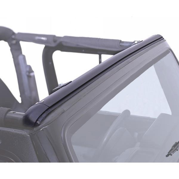 Rampage Windshield Channel Header, 97-06 Wranglers