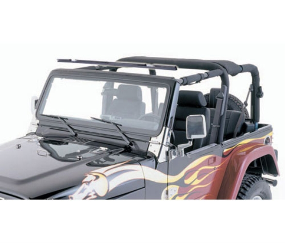 Windshield Channels for 1976-95 YJ Wrangler and CJ