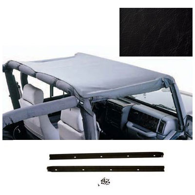 Standard Brief Top Kit Jeep CJ7 76-86 Black