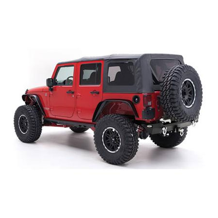 2007-09 Wrangler Unlimited Soft Top with Tinted Windows