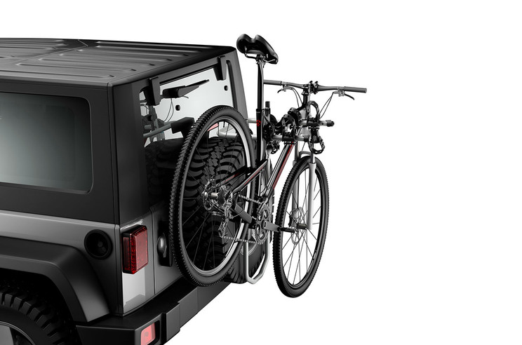 Jeep Spare Tire Bike Rack, Carries 2 Bikes