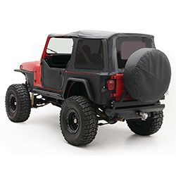 Jeep Wrangler YJ Replacement Soft Top Tinted Windows