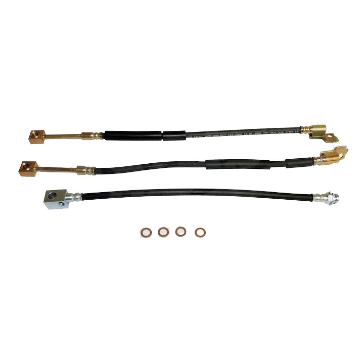 Brake Hose Kit, 87-89 Wrangler YJ
