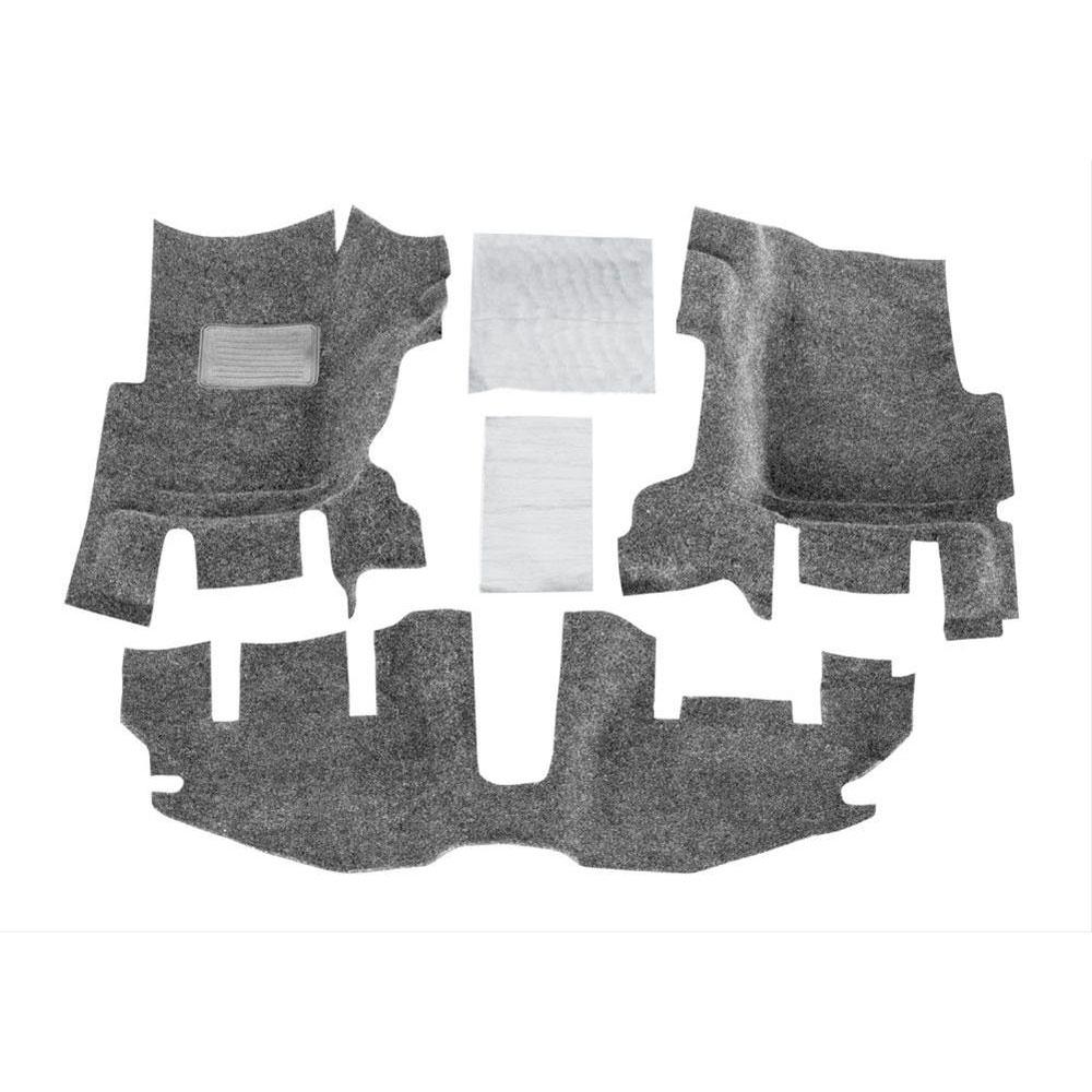 BedRug Front Floor Kit 97-06 Wranglers TJ