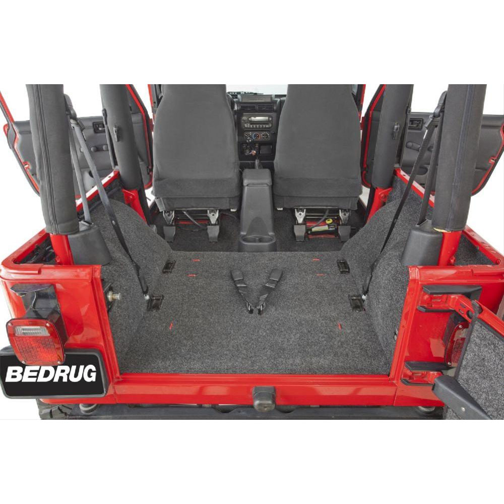 BedRug Rear Floor Kit 97-06 Wranglers TJ