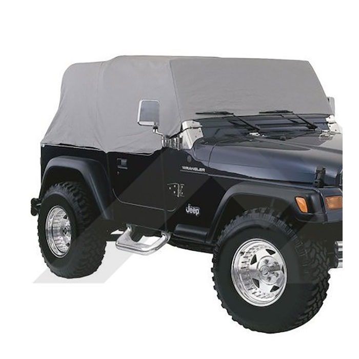 Jeep CJ7 Cab Cover, Gray