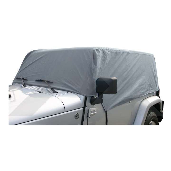 Cab Cover, Gray, Wrangler JK 2 Doors