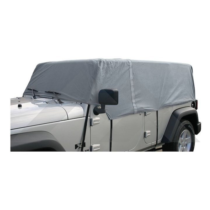 Cab Cover, Gray, Wrangler JK 4 Doors
