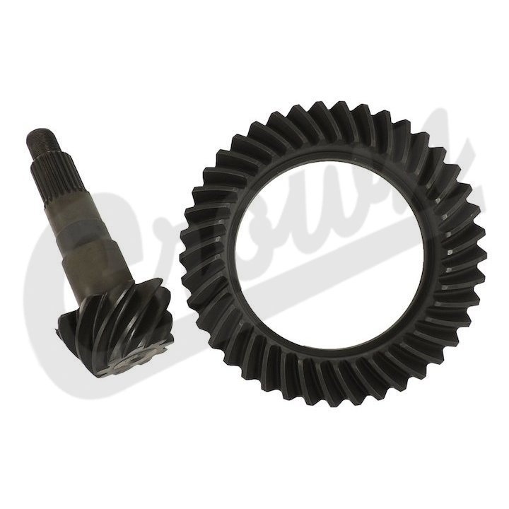 Ring and Pinion, 5.13 Ratio, Rear Dana 44, 07-16 Wranglers