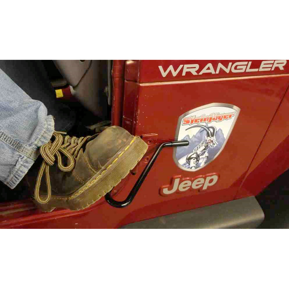 Door Foot Rest 97-06 Wranglers
