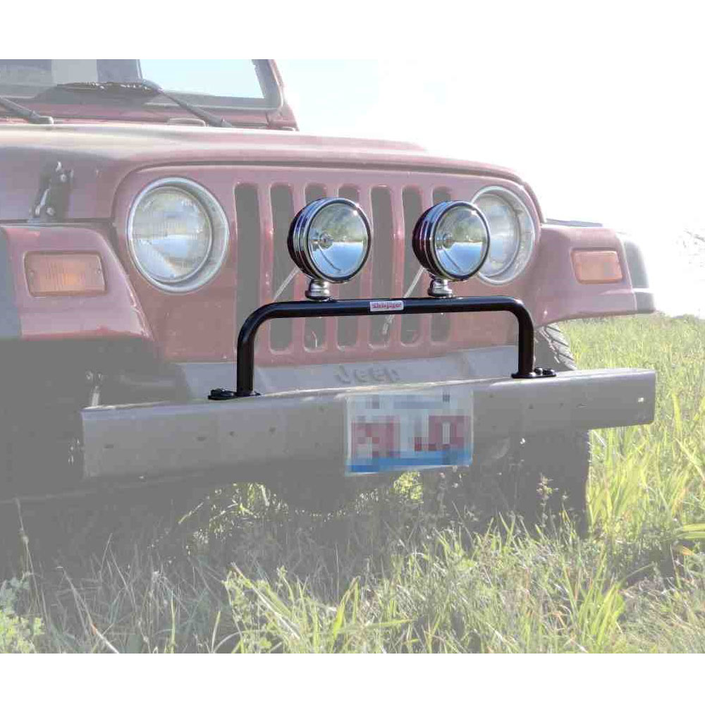 Grill Guard with Light Bar 97-06 Wranglers