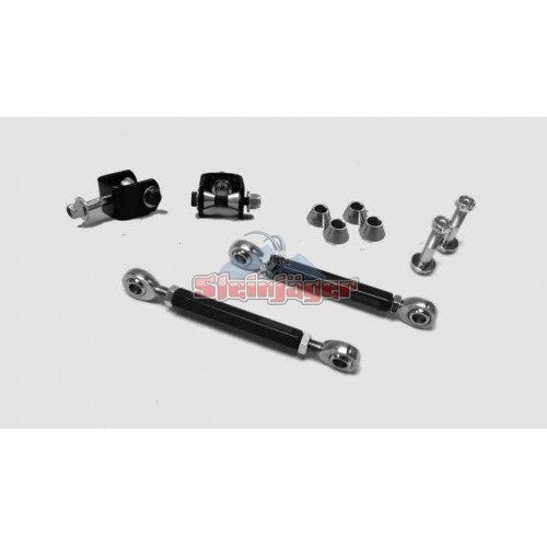 Front Sway Bar End Link Kit, 4 inch Lift, 97-06 Wranglers