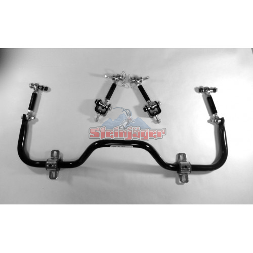 Sway Bar and End Link Package, 4 inch Lift, 97-06 Wranglers