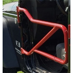 Jeep JK Wrangler Front Tube Doors Red Baron