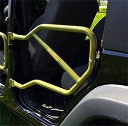 Jeep JK Wrangler Rear Tube Doors Locas Green