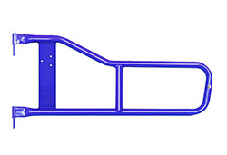Jeep TJ Wrangler Tube Doors Southwest Blue
