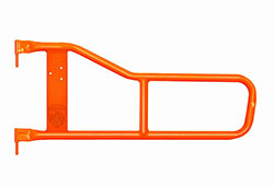 Jeep TJ Wrangler Tube Doors Fluorescent Orange