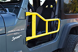 Jeep TJ Wrangler Tube Doors Lemon Peel