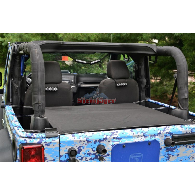 Cargo Cover, Rear, 07-18 Wranglers 2 Doors