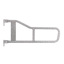 Jeep TJ Wrangler Tube Doors Gray Hammertone