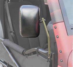 Jeep JK Wrangler Trail Door Mirrors Military Beige